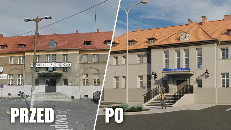 Przedwojenny dworzec w Oleśnie zostanie wyremontowany