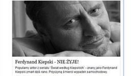 Andrzej Grabowski ofiarą internetowego oszustwa
