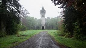 """Opuszczony zamek Miranda """"Noisy"""" w Celles (Belgia)"""