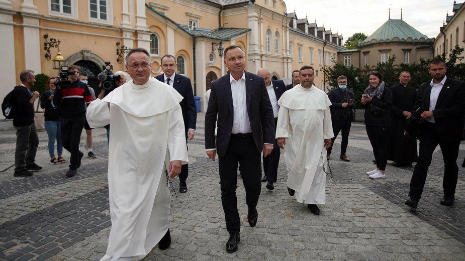 Andrzej Duda na Jasnej Górze