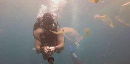 Zanurkował z kamerą w oceanie. Odkrył coś przerażającego