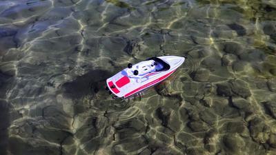 Großer Fahrspaß mit kleinen RC-Booten ab 20 Euro