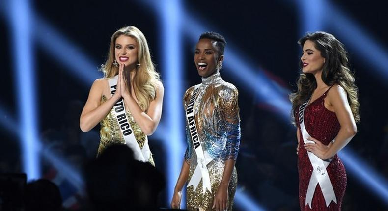 Miss Universe top 3