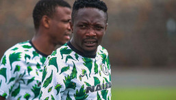 Ahmed Musa has not reached 100 caps for the Super Eagles according to FIFA  (Instagram/Super Eagles)