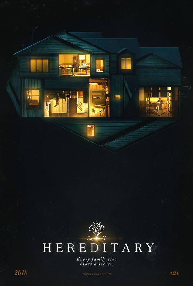 "Plakat horroru ""Hereditary"""