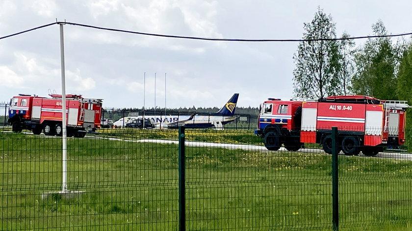 Na lotnisku w Mińsku awaryjnie lądował samolot. Raman Pratasiewicz został zatrzymany przez władze Białorusi