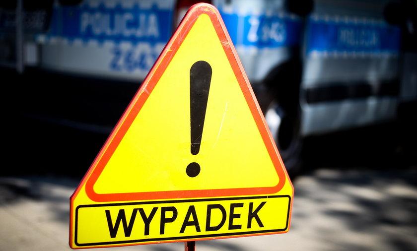 Grodzisk Maz.: kolizja samochodu SOP na autostradzie A2