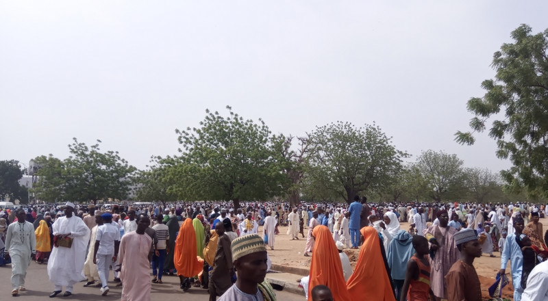 Eid-el-fitr: Gombe records low turnout at prayer grounds