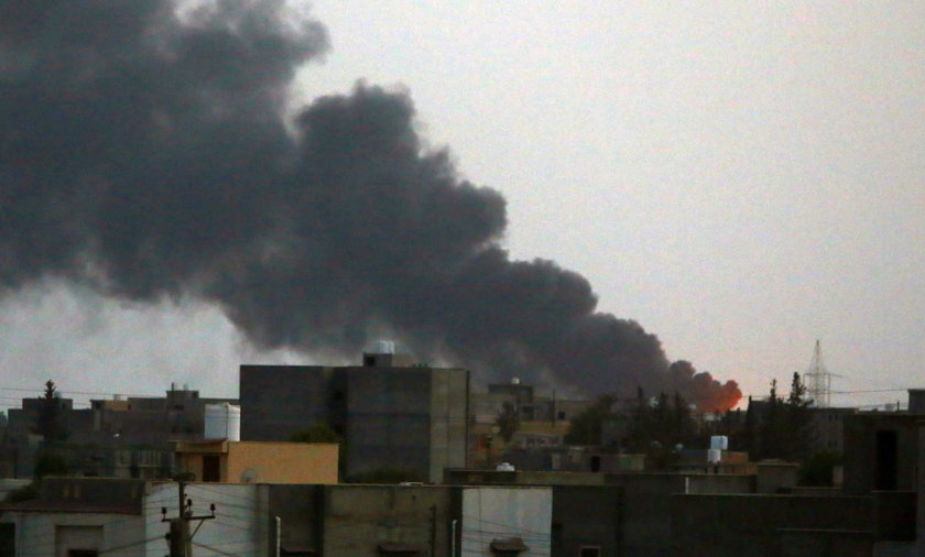 Starcia w Trypolisie wybuchły ponownie tydzień temu