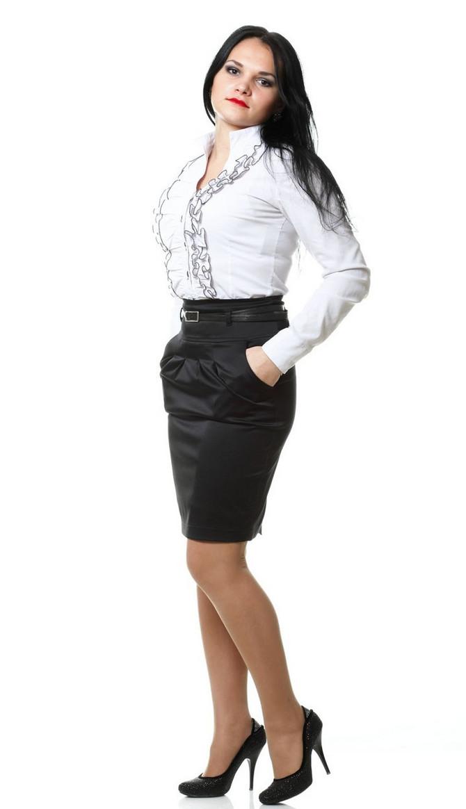 Elegantna suknja i bluza
