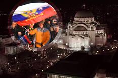 PUTIN U SRBIJI Svečani ručak u čast ruskog predsednika, veliki broj građana ispred Hrama Svetog Save (FOTO, VIDEO)