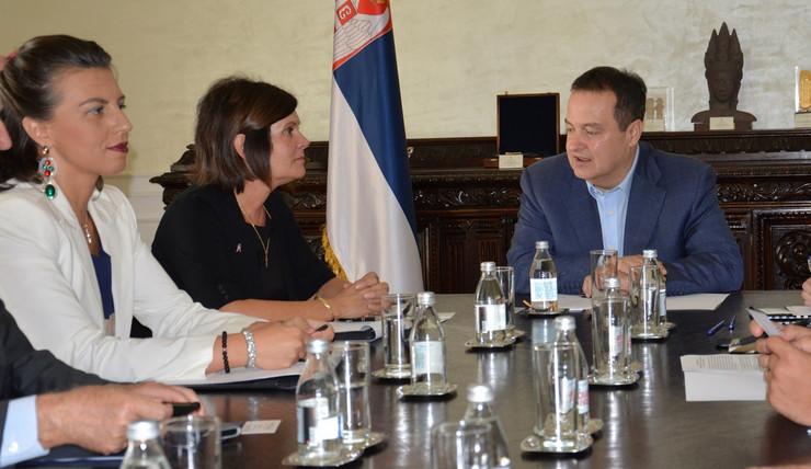 Ivica Dačić delegacija Nacionalne garde Ohaja