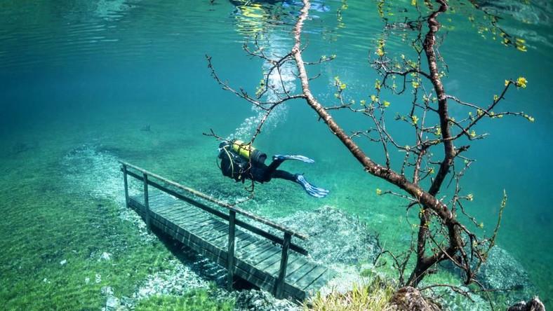 Poziom wody w jeziorze Grüner See podnosi się o 12 metrów w okresie roztopów!