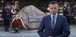 Błaszczak wspomina funkcjonariuszy zamordowanych w Katyniu