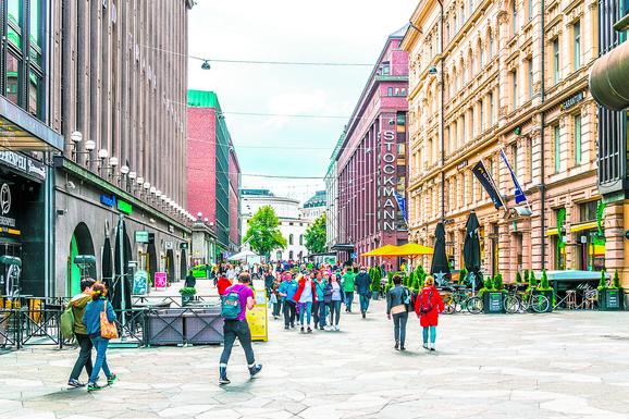 Oko 600.000 ljudi živi u prestonici Finske