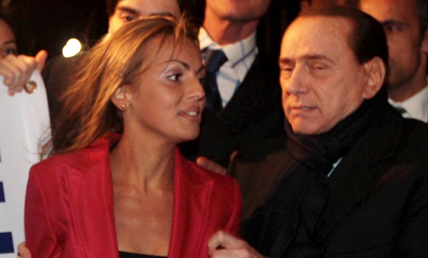 Francesca Pascale i Silvio Berlusconi