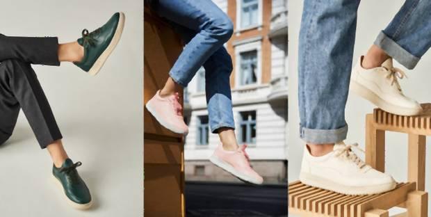 Čoraz viac výrobcov tenisiek reaguje na dopyt po ekologickejších variantov  oblečenia a obuvi. 5777f2693d7