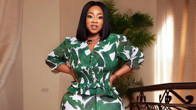 These gorgeous photos of Moesha Boduong showing no skin will make your day