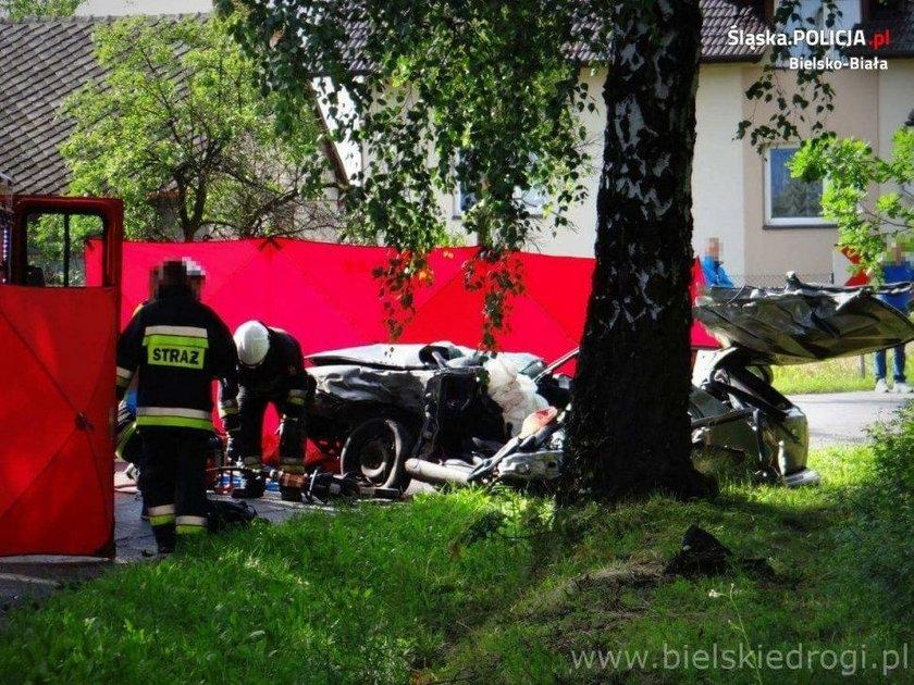 18-latek zginął za kierownicą