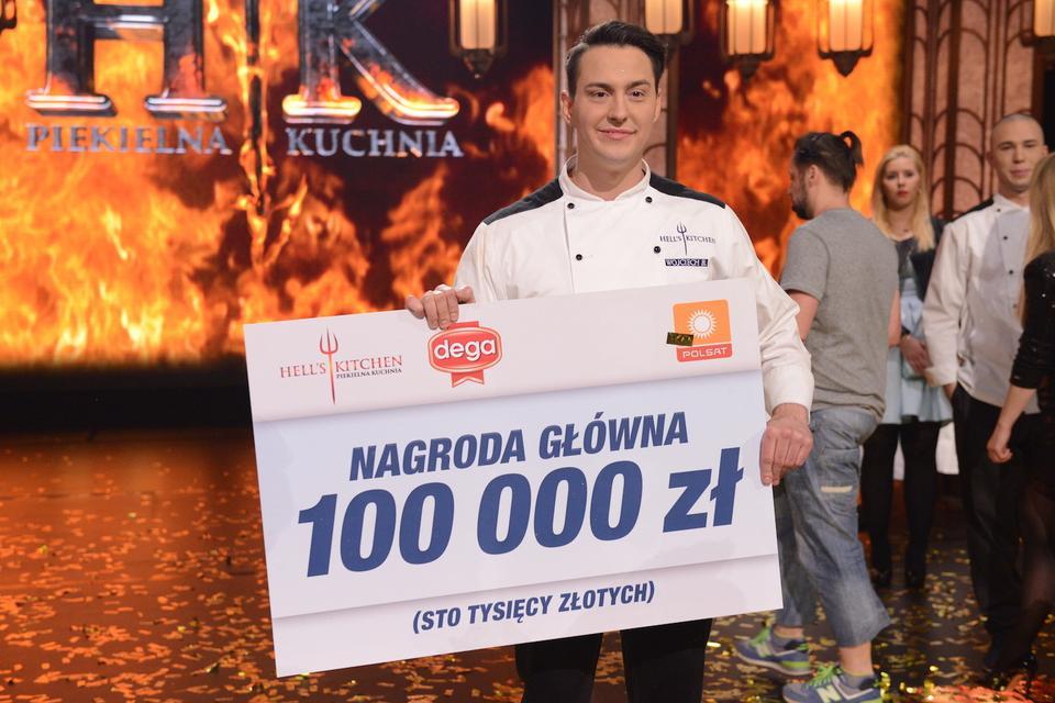Hells Kitchen Piątą Edycję Wygrał Wojciech Bartczak