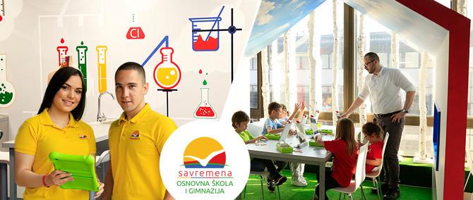 Savremena osnovna škola i gimnazija – mesto gde stasavaju budući kreativci, IT-jevci, naučnici i lideri