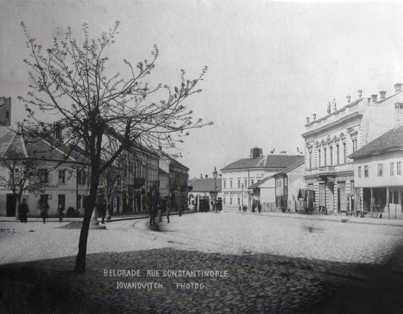 Ovako je izgledala Kolarčeva ulica 1905. godine