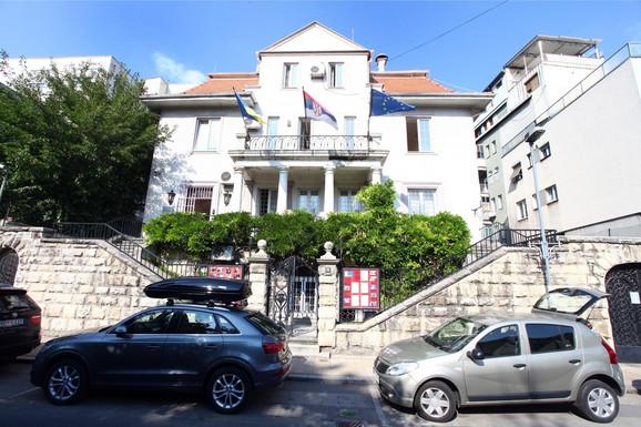 Vila Dobrivoja Božića u Krunskoj ulici u Beogradu