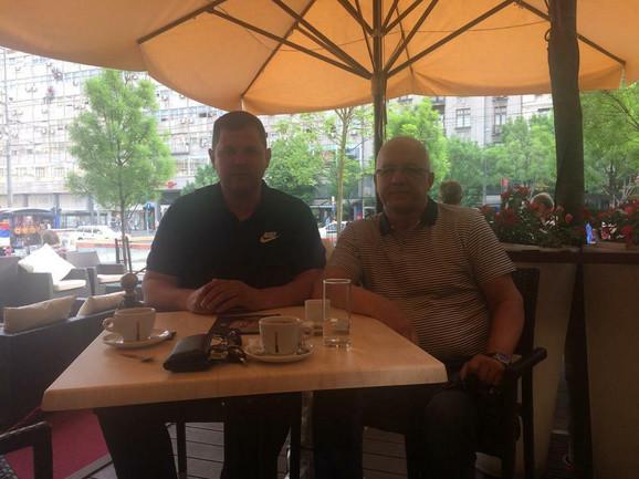 Nenad Borovčanin i Miodrag Perunović
