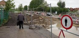 Piotrkowska rozkopana, pętla autobusowa zamknięta, korki. Trudny czas dla Ujeściska. Trwa budowa nowej linii tramwajowej