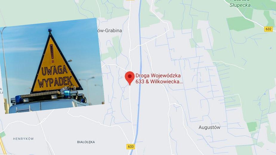 Warszawa. Czołowe zderzenie na Białołęce. Sześć osób rannych