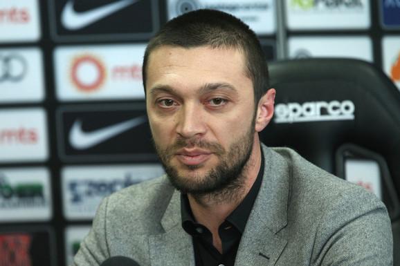 Ivica Iliev nije više sportski direktor Partizana