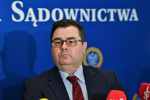 Nowy przewodniczący Krajowej Rady Sądownictwa Paweł Styrna