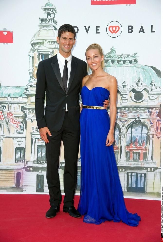 Jelena i Novak 2013. u Monaku