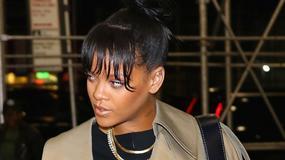 Rihanna w obszernym płaszczu na ulicy to jeszcze nic. Spójrzcie tylko na jej buty