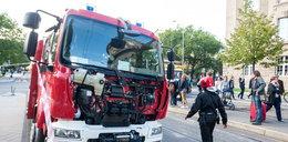 Wóz strażacki zderzył się z tramwajem