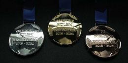 Ważą 245 gramów i są pokryte złotem. Ekstraklasa przygotowała nowe medale