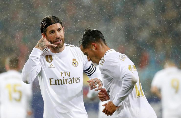 Serhio Ramos i Lukas Vaskez, FK Real Madrid