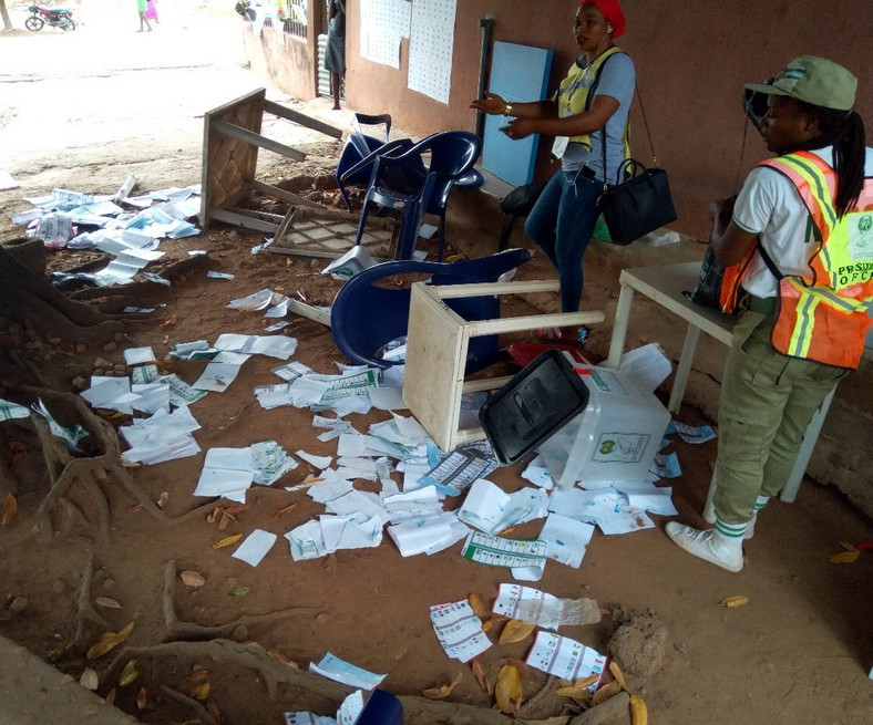 Rivers REC confirms election disruptions in few areas 2 (Twitter @MobilePunch)