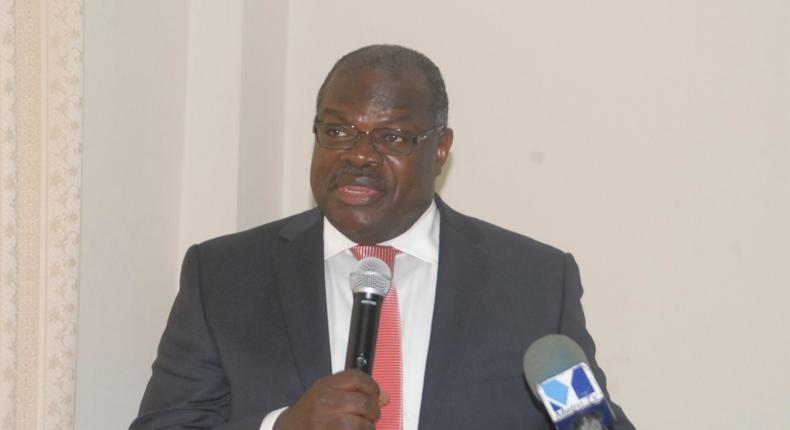 The Secretary-General of ARUA, Prof Ernest Aryeetey