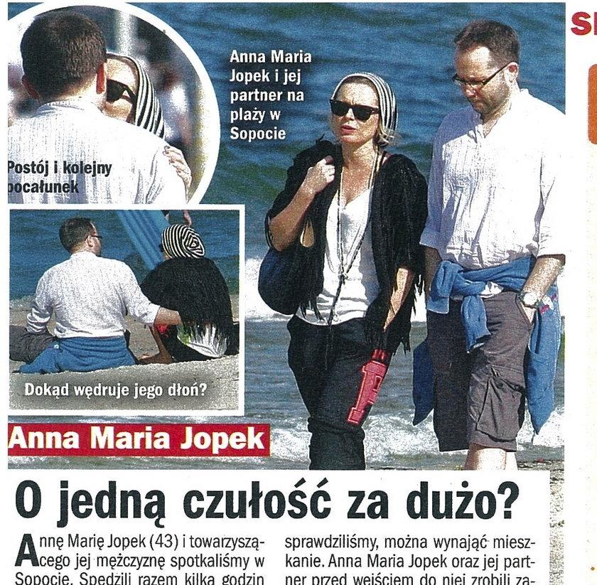 Anna Maria Jopek i tajemniczy partner