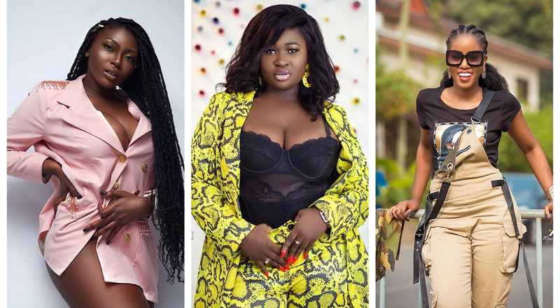 Top 10 stylish Ghanaian female musicians in January