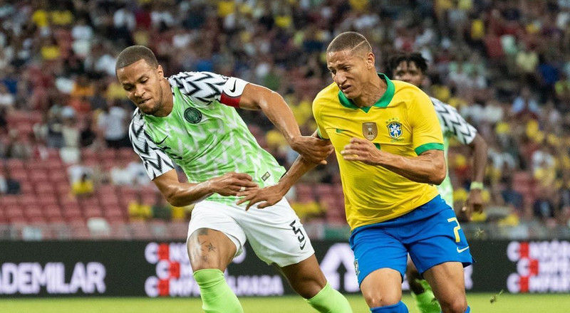 Super Eagles coach Gernot Rohr says his boys showed strength against Brazil