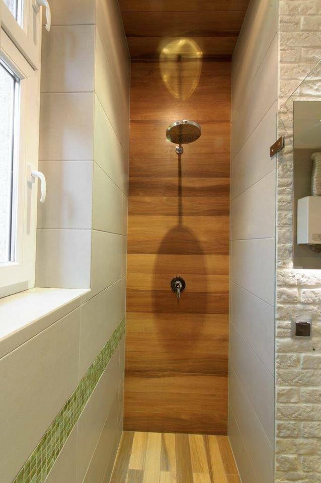Okładzina pod prysznicem…