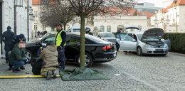 Staranował bramę Pałacu Prezydenckiego. To mówił policjantom