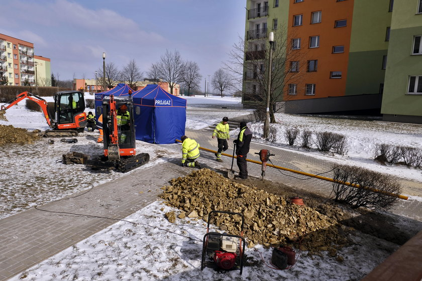 Awaria gazociągu była powodem wybuchu gazu w Bytomiu