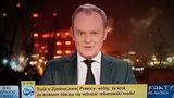 Donald Tusk gościem Faktów po Faktach. Wbił szpilę Obajtkowi i Gowinowi