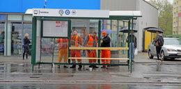 Powrót wiaty na przystanek MPK przy Rzgowskiej w Łodzi