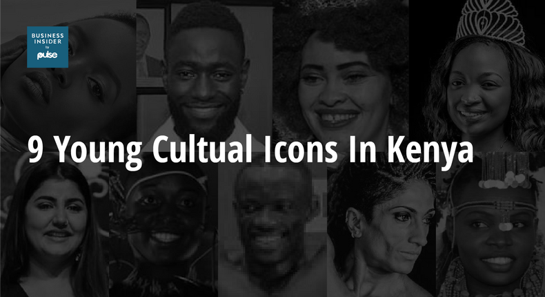 9 young cultural icons in Kenya today.
