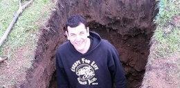 Zakopali go żywcem. Cudem ocalał