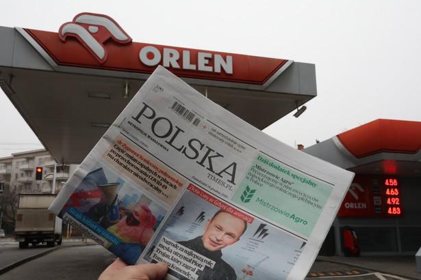 Prezes UOKiK zgodził się na przejęcie Polska Press przez PKN Orlen na początku lutego br.